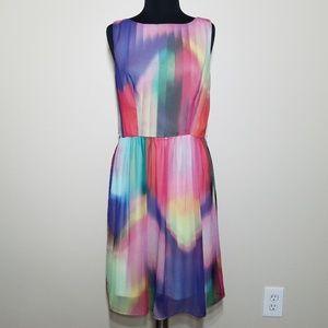 Ronni Nicole Colorful Sleeveless Midi Dress 12